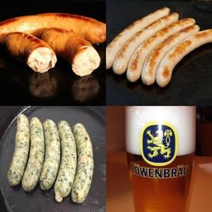 ビールのための無添加腸詰トリオ 限定品
