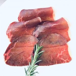 無添加 黒毛和牛もも肉の生ハムブレザオーラスライス