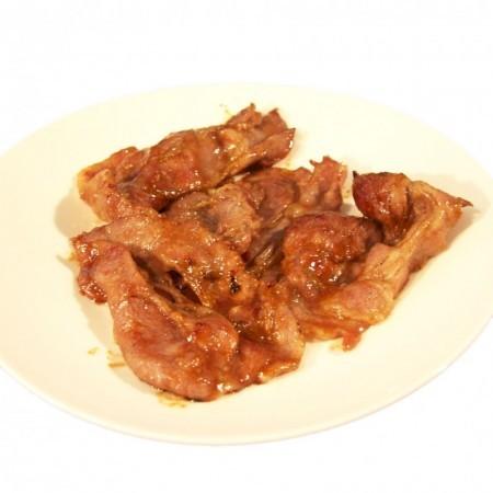 冷凍 無添加 ぐるめ豚しょうが焼用 たれ付き焼肉用