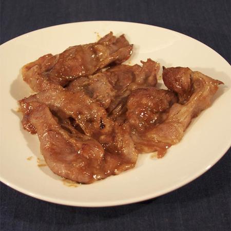 冷凍 無添加 ぐるめ豚みそ漬け たれ付き焼肉用